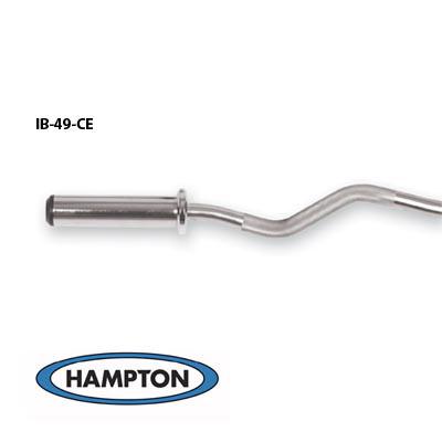 4' International Curl Bronze Bushing Bar w/ Hard Chrome Finish (28 mm)