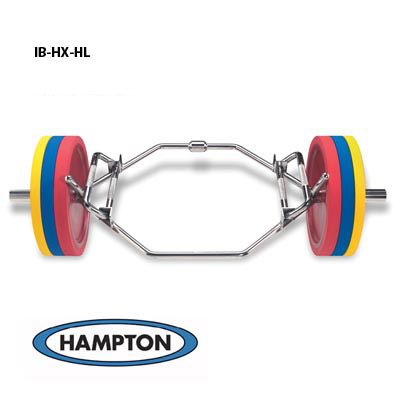Multi-Hex International Dead Lift / Shrug Bar w/ Hi-Lo Handles