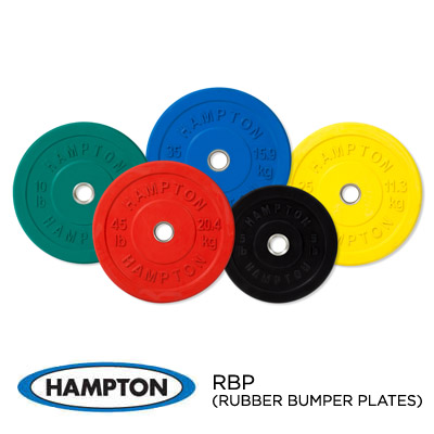 OLYMPIC RUBBER COATED BUMPER PLATES