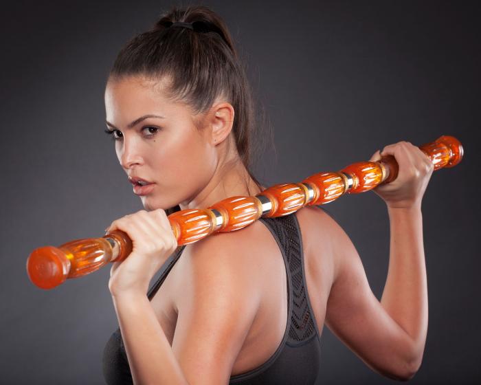 girl with orange gel-bar
