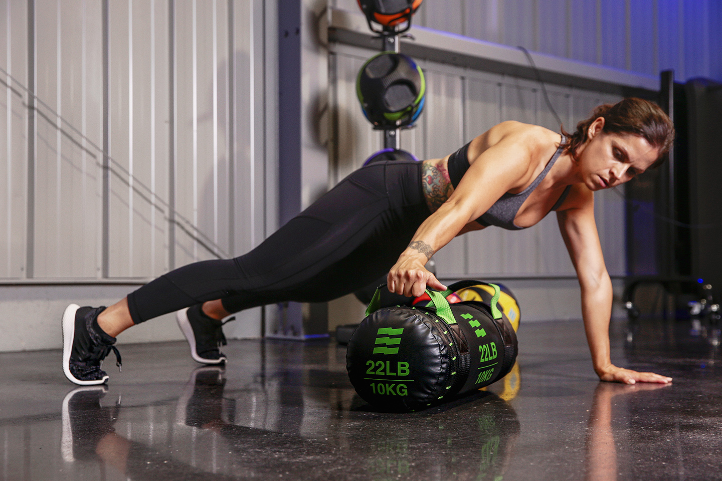 julie smith strength training with the HeroStrength Action Bag